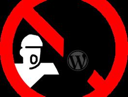 Denegar el acceso en WordPress a clientes peligrosos