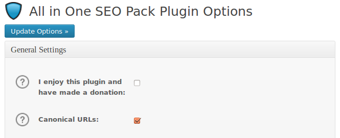 url canonical plugin