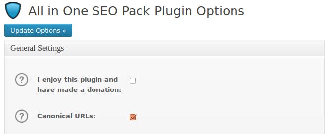 url canonical plugin