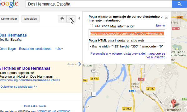 codigo iframe google maps