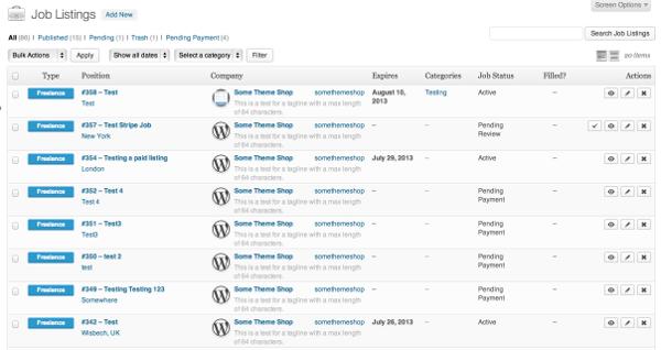 Plugin para crear una web de trabajo fácil con Wordpress