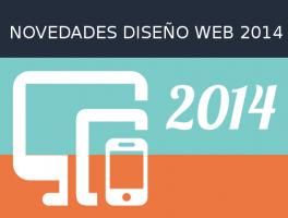 Novedades en el diseño web para este 2014