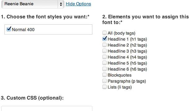 tipografia fuentes google