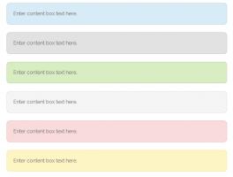 Como hacer cajas de colores con esquinas redondeadas con CSS en Wordpress