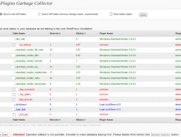 Como eliminar tablas de plugins que no sirven de la base de datos de Wordpress