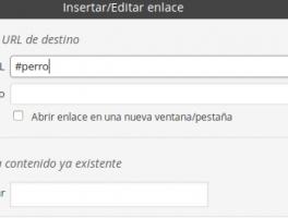 Como incluir saltos de enlaces en una misma página con Wordpress