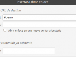 Como incluir saltos de enlaces en una misma página con Wordpress