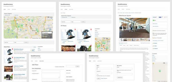 frontal caracteristicas directorio empresas wordpress