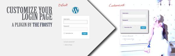 inicio sesion personalizada wordpress