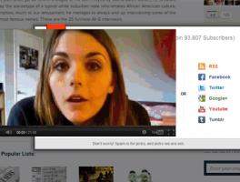 Como evitar que un video de Youtube cubra el contenido de WordPress