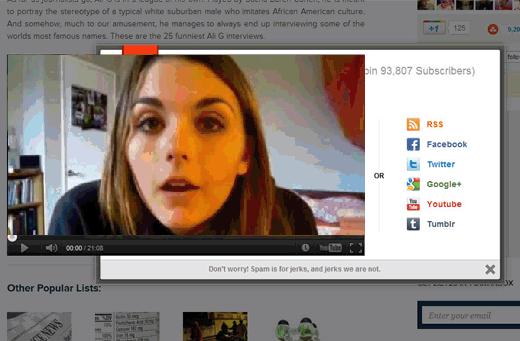 video destorsionado de youtube