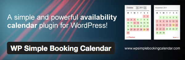 calendario simpre reservas wordpress