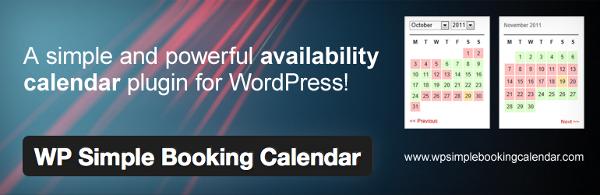 calendario simpre reservas wordpress