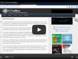 Incluir un menú flotante en el header de WordPress