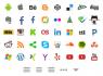 pack de iconos para web y movil