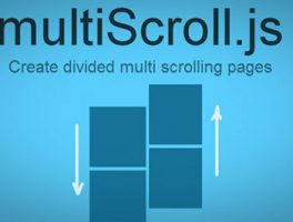 Plugin  jQuery para crear múlti-desplazamiento con dos diseños verticales