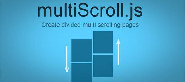 paginas multi-desplazamiento divididas