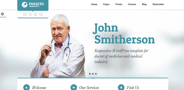 tema doctor wordpress