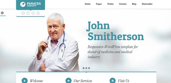 tema doctor wordpress
