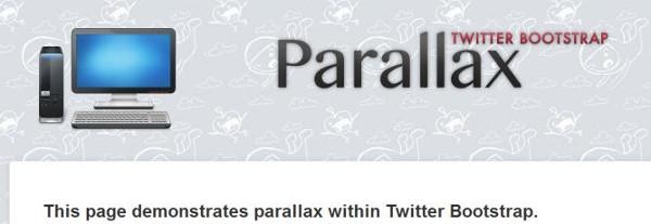 bootstrap-parallax-theme