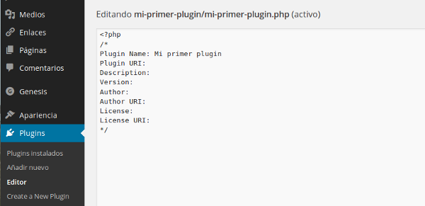 editor plugin