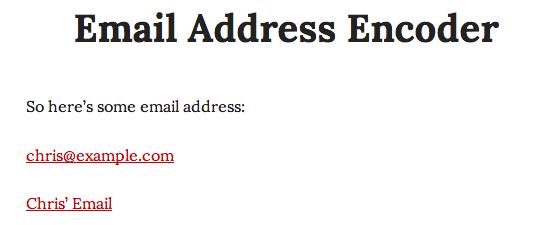 email encoder visto por humano