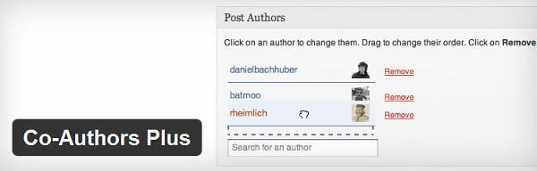 Co-Authors-Plus-plugin