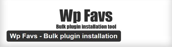 WP-Favs
