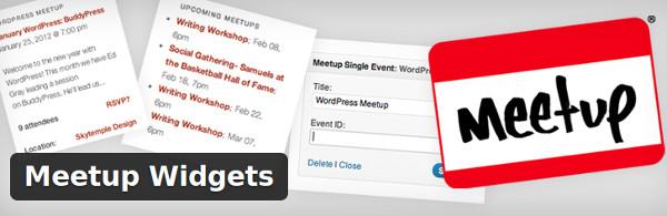 Meetup Widgets