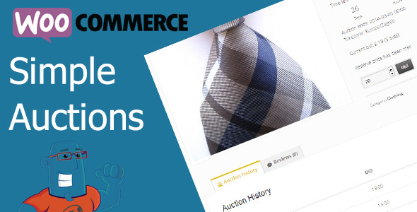 woocommerce simple auction