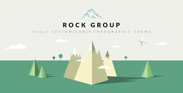 Rock Group Multipurpose Infographic Theme