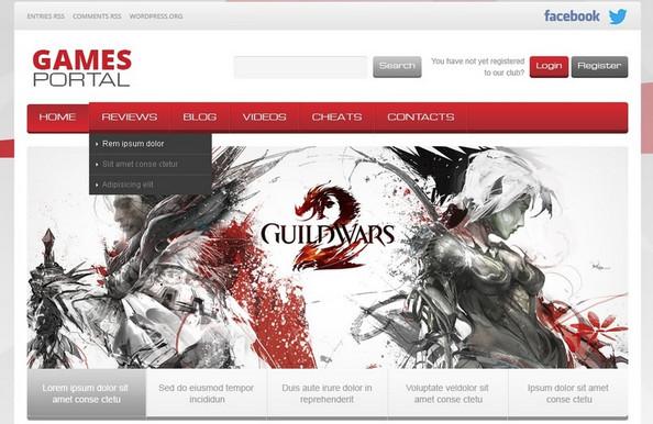 Los Mejores Temas de Juegos para WordPress 2018