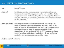 Pon WordPress en automático para los medios sociales con IFTTT