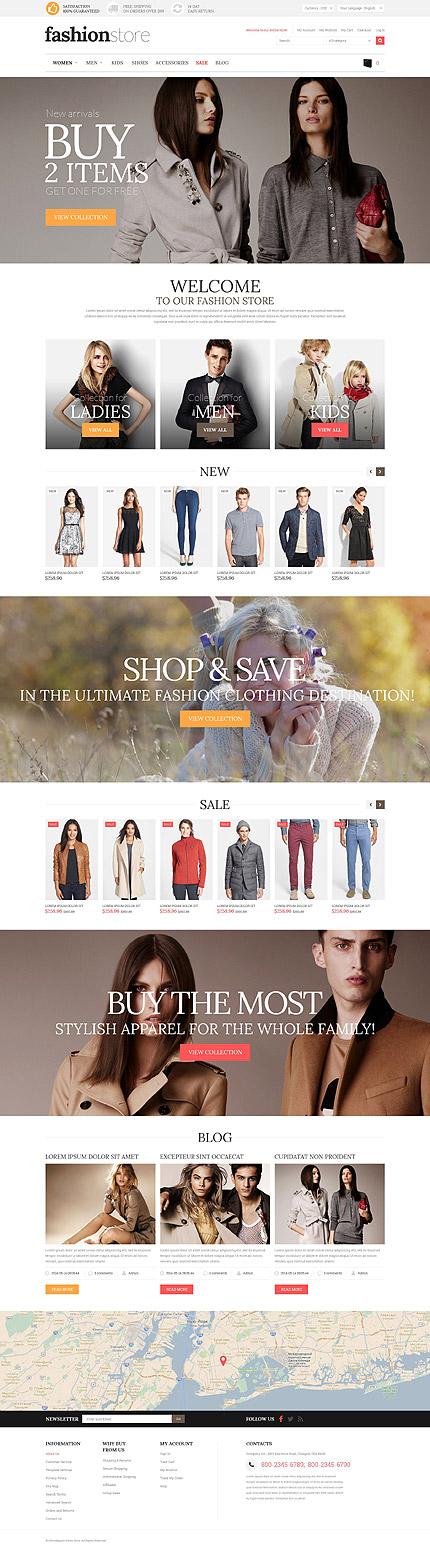 Fashion Store Magento Theme