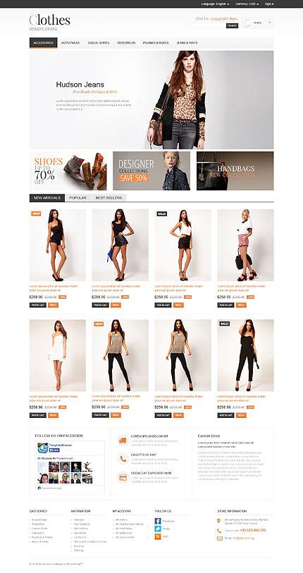 Apparel Store PrestaShop Theme