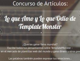 Dinero y Premios en el Concurso de Artículos de TemplateMonster