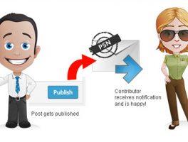 Plugin para notificación de correo al publicar un post en WordPress