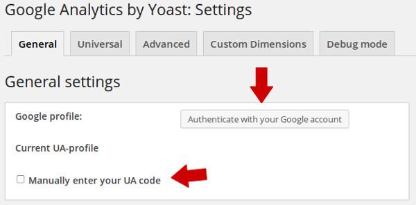 incluir codigo google analytics