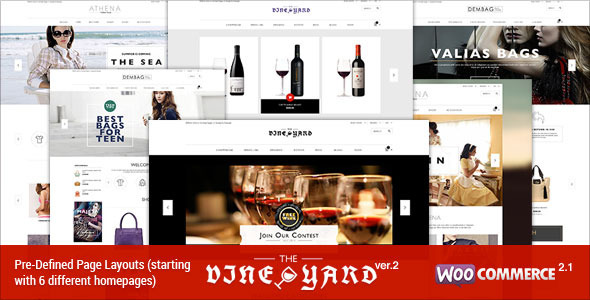 responsive woocommerce tema vino