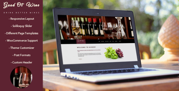 vino y bodega theme wordpress