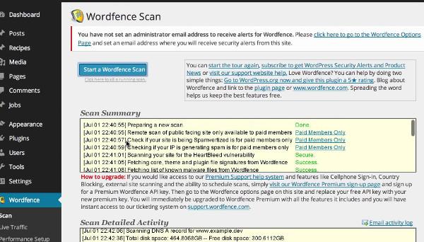 escaner wordfence