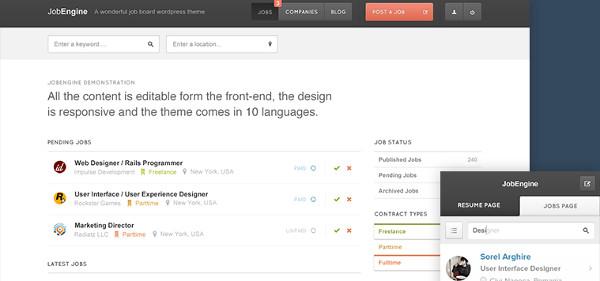 Las Mejores Plantillas WordPress para Búsqueda de Empleo