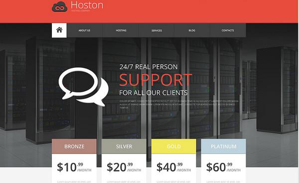 11 Mejores Temas WordPress para Hosting o Alojamiento Web