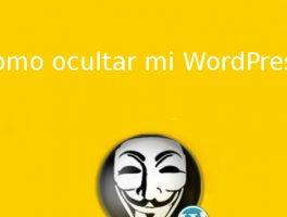 Como ocultar que nuestra web funciona con WordPress