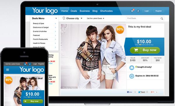 Como crear una Web estilo Groupon con WordPress