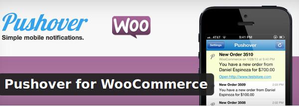 Pushover for WooCommerce