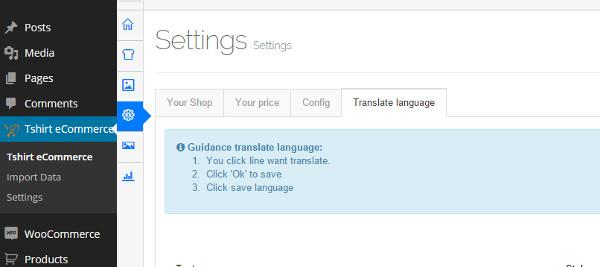 cambiar idioma woocommerce