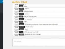Como incluir un chat en WordPress para autores registrados
