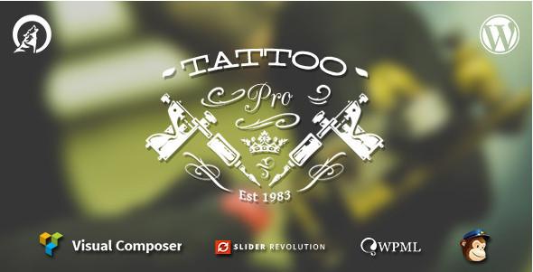 Las 6 Mejores plantillas para web de tatuajes en WordPress