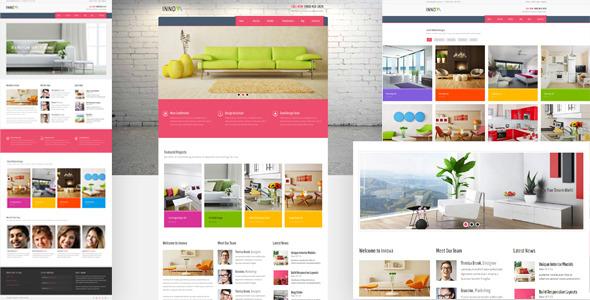 Las 11 mejores plantillas para interiorismo con wordpress for Innova muebles